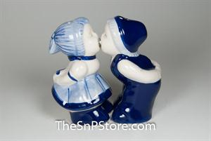 Dutch Girl and Boy Salt & Pepper Shakers - Magnetic