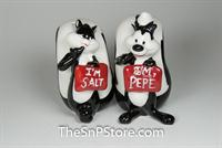 Pepe Le Pew And Penelope  Salt & Pepper Shakers - Magnetic