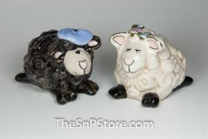 Heather And Hamish Salt & Pepper Shakers - Magnetic