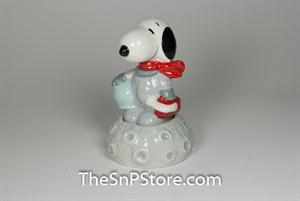 Astronaut Snoopy On Moon Salt & Pepper Shakers - Magnetic