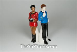 Uhura & Dr. Mccoy Salt & Pepper Shakers - Magnetic