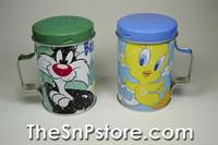 Sylvester & Tweety Best Friends Tin Salt & Pepper