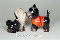Yorkshire Terriers Salt & Pepper Shakers - Magnetic