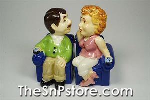 Couch Couple Salt & Pepper Shakers