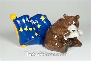 Alaska Salt & Pepper Shakers