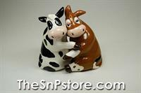 Hugging Cows S&P Shakers
