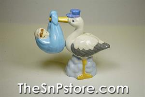Baby And Stork S&P Shakers