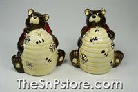 Bear  Salt  & Pepper Shakers