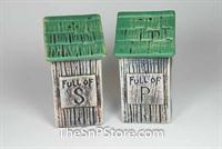 Outhouse Salt & Pepper Shakers
