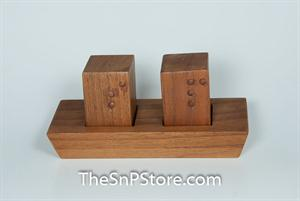 Braille Salt & Pepper Shakers