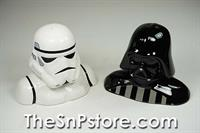 Star Wars Darth Vader and Storm Trooper Salt & Pepper Shakers