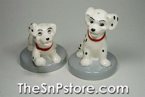 101 Dalmatians Puppies Disney Salt  & Pepper Shakers