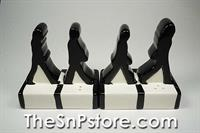 The Beatles Abbey Road Silhouettes Salt  & Pepper Shakers