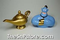Aladdin Abu and Lamp Salt  & Pepper Shakers