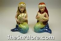 Sea Beauty Salt  & Pepper Shakers