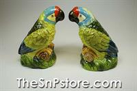 Parrot Salt  & Pepper Shakers