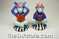Fancy Monkeys Salt  & Pepper Shakers