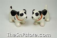 Spotted Dog Salt  & Pepper Shakers