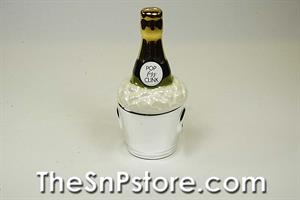 Champagne and Bucket  Salt  & Pepper Shakers