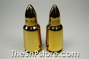 Golden Bullet Salt  & Pepper Shakers