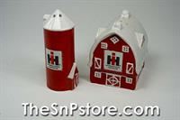 Farmall Barn and Silo Salt  & Pepper Shakers