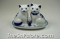 Cat  Salt  & Pepper Shakers