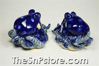 Blue Octopus Salt  & Pepper Shakers
