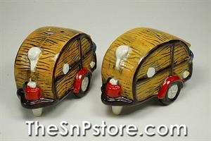 Woody Camper Salt  & Pepper Shakers