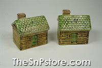 Cabin Salt  and Pepper Shakers
