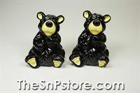 Willie Bear  Salt  & Pepper Shakers