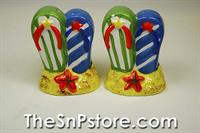 Flip Flops  Salt  & Pepper Shakers