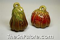 Autumn Days Gourd Salt  & Pepper Shakers