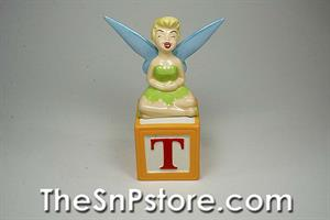 Tinker Bell and Block Salt and Pepper Shakers