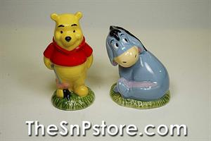 Pooh and Eeyore Salt and Pepper Shakers