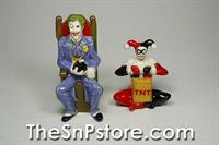 Joker and Harley Quinn Salt and Pepper Shakers