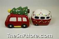 Whimsy Holiday Salt  & Pepper Shakers