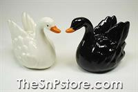 Swan  Salt  & Pepper Shakers