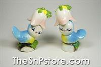 Bluebird Salt  & Pepper Shakers